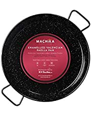Machika Enameled Steel Paella Pan 15 inch (38 cm)