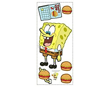 BU SPONGEBOB Jumbo WALL APPLIQUES wallpaper kid room