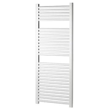 """Termotech - Radiador toallero blanco """"Elena"""", 120 x 55 cm, llano"""