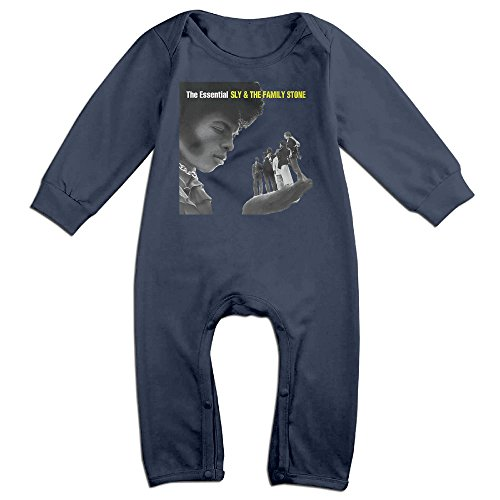 Price comparison product image MIT5 Toddler / Infant Sly And The Family Stone Essential Romper Bodysuit Outfits 6 M