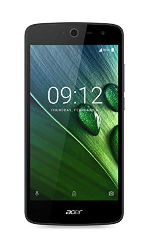 Acer Liquid Zest 4G Dual Micro-SIM Smartphone (12,7 cm (5 Zoll) Display, 16GB Speicher, Android 6.0) blau + weiß (Dual Backcover)