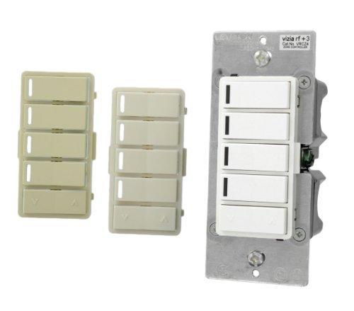 (Leviton VRCZ4-M0Z Vizia RF + 4-Button Remote Zone Controller)