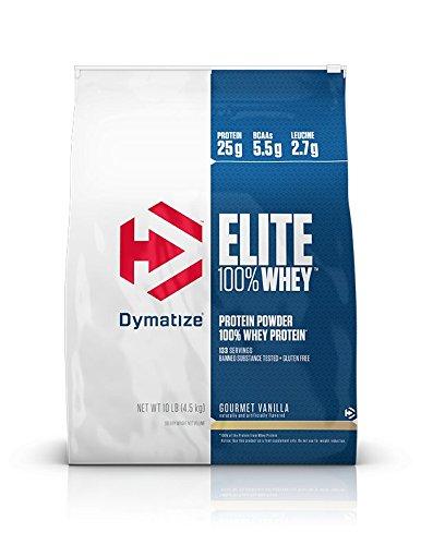 Cheap Dymatize Elite 100% Whey Protein, Gourmet Vanilla, 10 lbs