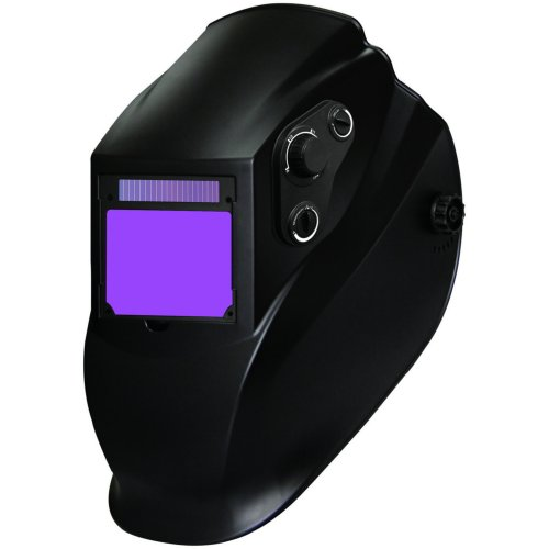 Radnor 64005199  Lite Black Welding Helmet with 90 mm x 110 mm Variable Shades, 9 - 13 Auto Darkening Lens, Plastic, 1' x 1'...