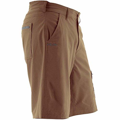 Huk Heren Volgende Niveau 10,5 Shorts Schors / Antraciet