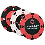 #10: ODYSSEY Golf 2018 Magnetic 3 Pack Poker Chip Ball Markers