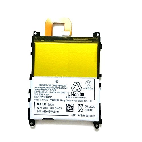 Batterymarket New 11.4Wh 3.8V Phone Replacement Battery LIS1525ERPC for Sony Xperia Z1 C6902 C6903 C6906 C6943 L39h 1588-4170