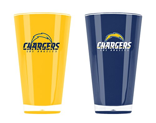 - NFL Los Angeles Chargers 20oz Insulated Acrylic Tumbler Set of 2