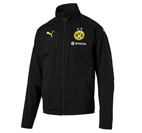 2016-2017 Borussia Dortmund Puma Softshell Training Jacket (Black) – Sports Center Store