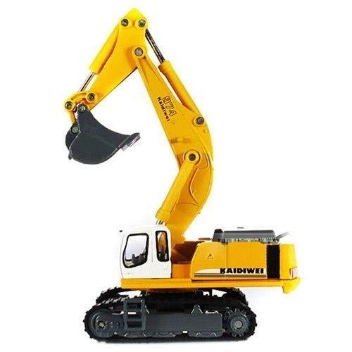 garantizado Excavators Kikioo 1 50 de aleación Diecast Camión de remolque remolque remolque Camión de auxilio Modelos de Cocheretera Vehículos de construcción Batidores, excavadoras, montaCochegas, camiones, rodillos de camino Juguetes educativo  Esperando por ti