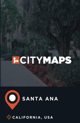City Maps Santa Ana California, USA