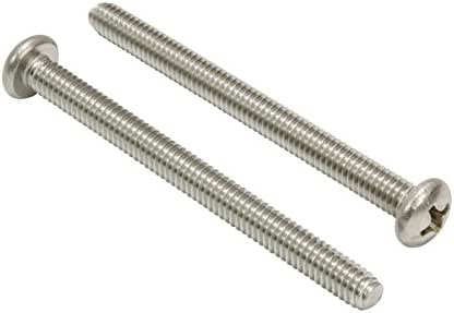 1-1//2 Length Phillips Drive Type A Pack of 50 Steel Sheet Metal Screw Pan Head #14-10 Thread Size Black Oxide Finish
