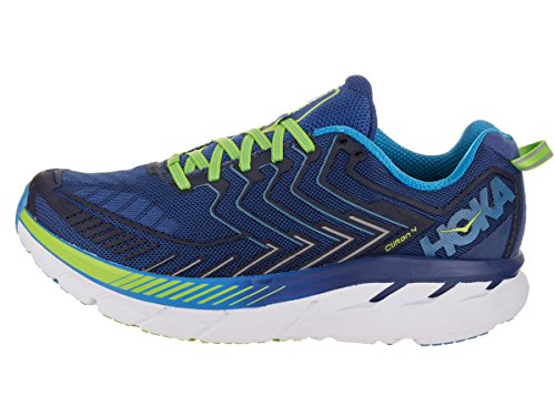 Hoka One One Clifton 4 True Blue Jasmin Green blu