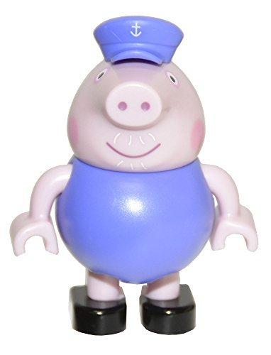 (Peppa Pig Build & Play Small Figure Bag - Grandpa Pig)