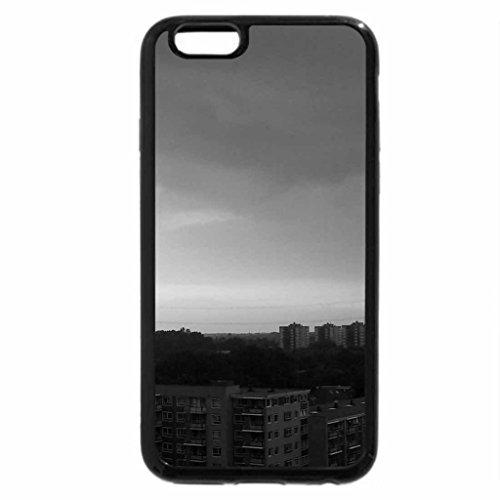iPhone 6S Plus Case, iPhone 6 Plus Case (Black & White) - Beautiful Sun sunset in Enschede