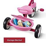 Radio Flyer Pink Rider Trike, outdoor toddler