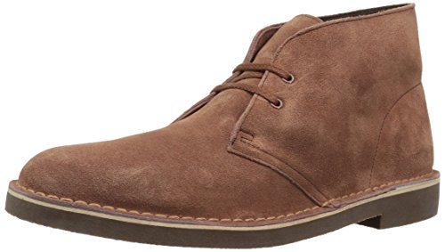 Clarks Men's Bushacre 2 Chukka Boot, Chestnut Suede, 10.5 M US by CLARKS