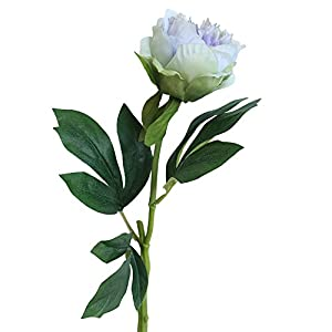 Freeby Artificial Silk Peony Fake Flower Bouquet Floral Peonies Plants Decor for Home Garden Wedding Party Decoration 35
