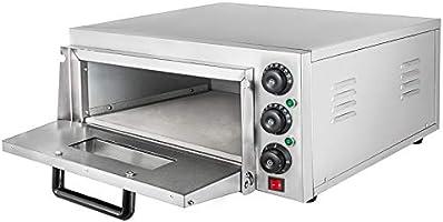 Moracle Horno de Pizza Eléctrico de 2KW Horno para Pizza con Cajón ...