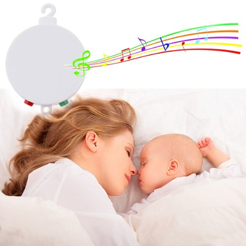 Baby Musical Mobile, AGPtek® Battery-operated Baby Bedding Musical Mobile Plays Twelve Tunes