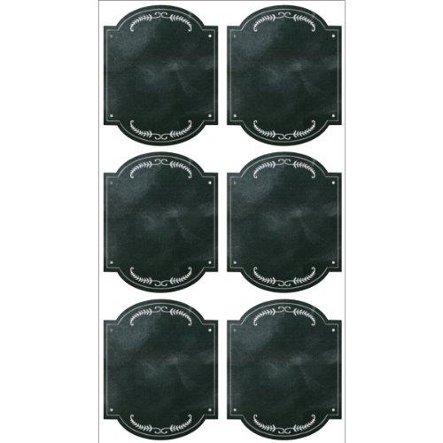 Sticko Scrapbooking Stickers, Chalk Frames