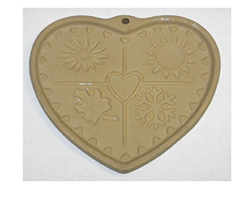 - 1997 Pampered Chef Seasons of the Heart Heritage Collection Cookie Mold