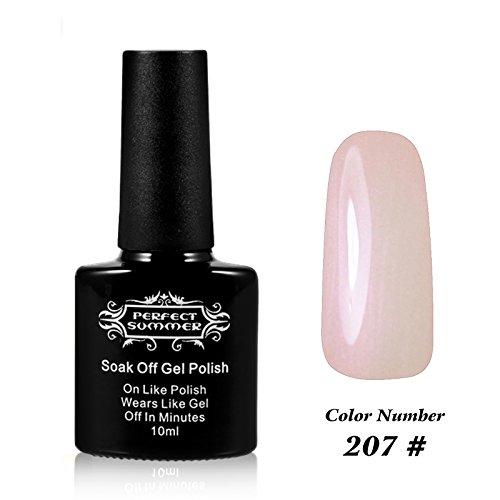 Perfect Summer Pro UV LED Soak Off Gel Nail Polish 10ml, Hol