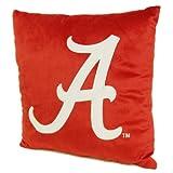 The Northwest Company NCAA Alabama Crimson Tide 16-Inch Polyester Felt Plush Pillow
