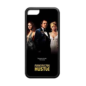 American Hustle Everyone Hustles to Survive Custom Rubber Iphone 5c Back Case Cover