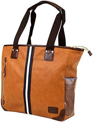 Brown Harvest Label Portsman Backpack
