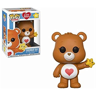 Funko POP! Animation: Care Bears Tenderheart Bear Collectible Figure, Multicolor: Funko Pop! Animation:: Toys & Games