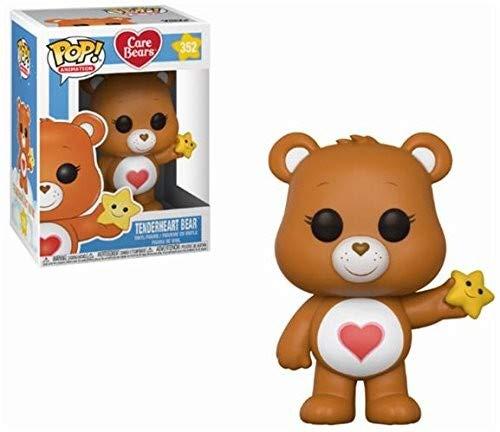 Funko POP! Animation: Care Bears Tenderheart Bear Collectible Figure, Multicolor