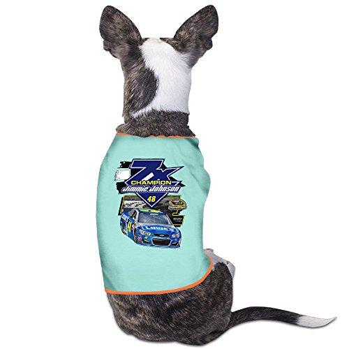 (Jimmie Johnson 2016 Sprint Cup Champion Puppy Clothes Pet Supplies)