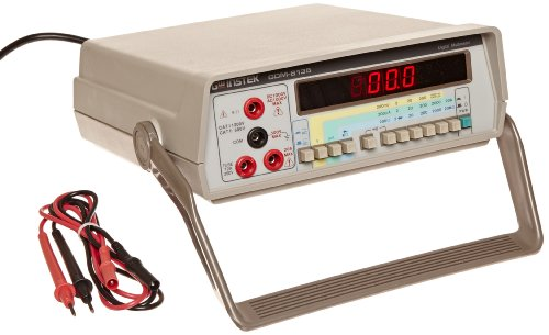 GW Instek GDM-8135 3-1/2 Digit LED Single Display Digital Bench Top Multimeter