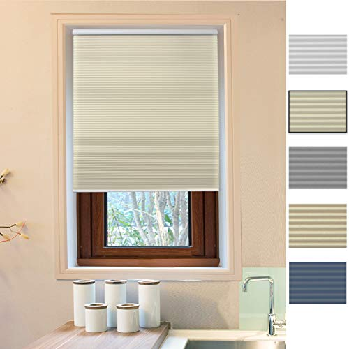 Cellular Honeycomb Blinds White Beige Privacy Light Filtering 31