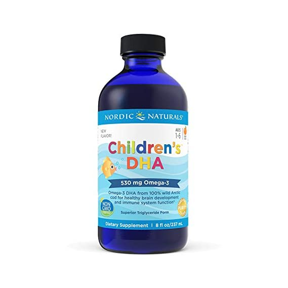 Nordic Naturals, Children's DHA, strawberry flavor, 8 fl oz (237), NOR-02723
