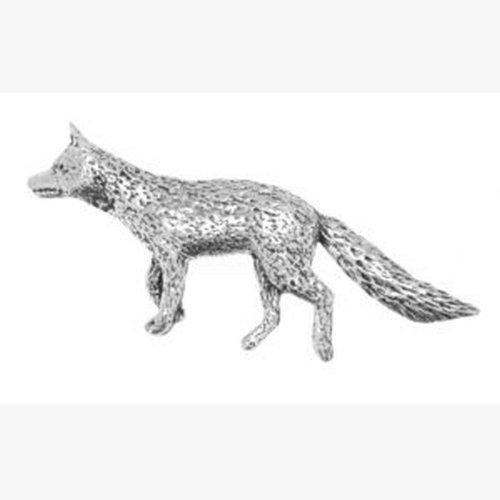 Boîte Graver Idée Cadeau À En Fox Pin's Étain 1vP7qXx