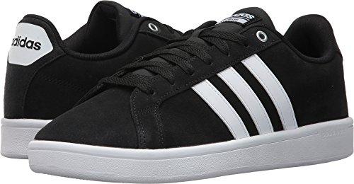 Adidas Men's Shoes | CF Advantage Sneakers, Black/White/Matte Silver, (13 M US)