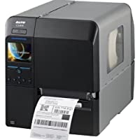 Sato CL408NX Direct Thermal/Thermal Transfer Printer - Monochrome - Desktop - Label Print - 4.10 Print Width - 10 in/s Mono - 203 dpi - 320 MB - Bluetooth - Wireless LAN - USB - Serial - Ethernet - LCD - 5.04 - WWCL00081