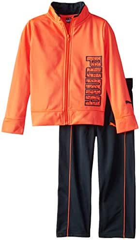 PUMA Boys' Tricot Jacket and Pant Set
