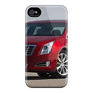 New Premium Flip Case Cover Cadillac Xts 2013 Skin Case For Iphone 4/4s