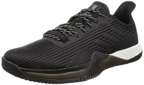 adidas Crazytrain Elite M, Chaussures de Running Homme Multicolore (Core Black/Night Met. F13/Core Black)