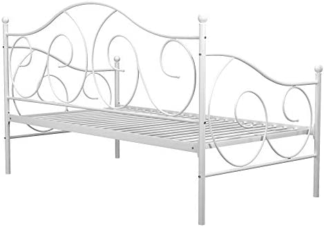 home, kitchen, furniture, bedroom furniture, beds, frames, bases,  beds 9 picture DHP Victoria Daybed, Twin Size Metal Frame, Multi deals