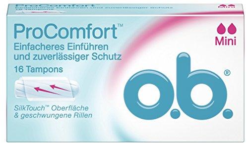 o.b. ProComfort Tampons Mini, 16er Packung