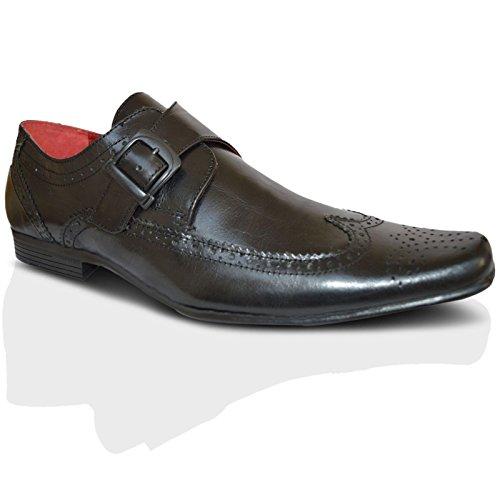 Red Tape - Botas para hombre marrón marrón Negro