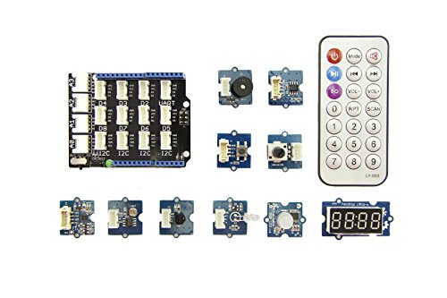 Grove Starter Kit for mbed,is designed for beginners to get started with mbed as soon as possible,contains many plug-n-play Grove modules,example Temperature Sensor,Temperature Sensor,Light Sensor