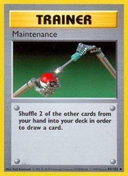 Pokemon - Maintenance (83/102) - Base Set