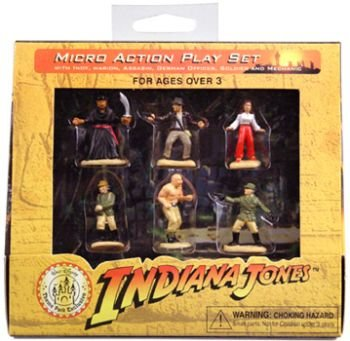 Indiana Jones Micro Action Play Set Walt Disney Theme Park E