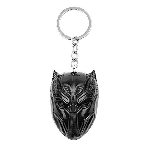 Hot Movie The Avengers 3 Captain America Civil War Superhero Black Panther Keychain Car Key Holder Accessories Gifts for Fans by Audree