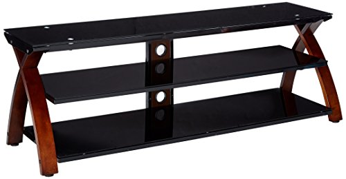 Z-Line Designs Willow TV Stand, 67 , Black